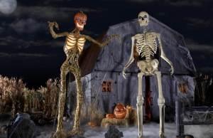 Home Depot Halloween Skeleton