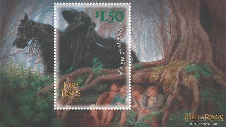 LORD OF THE RINGS Stamps