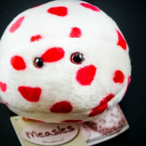 Giant Measles Plush Toy