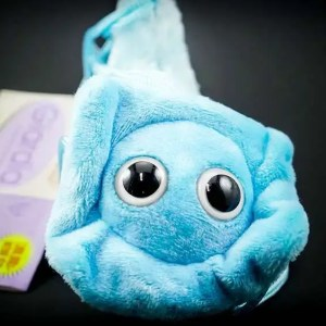 Giant Giardia plush toy