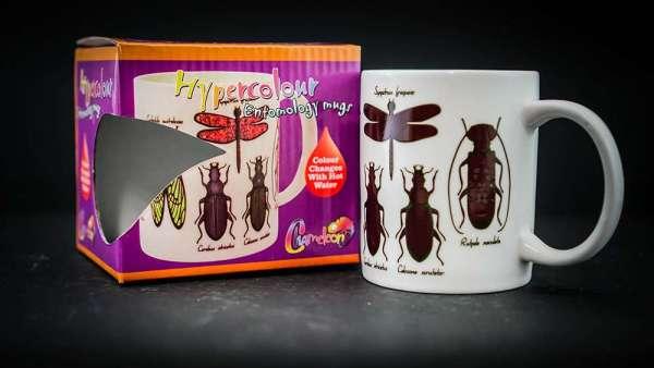 Colour Change Entomology Mugs