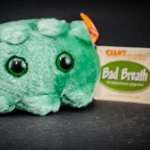 Giant Bad Breath Plush Toy