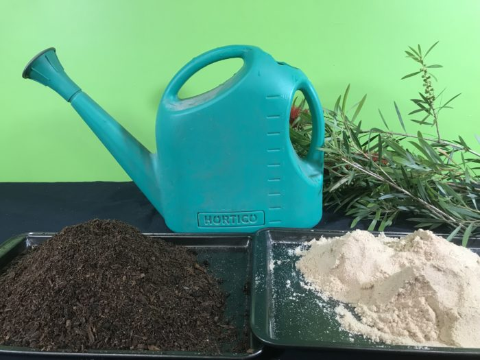 Build a simple erosion model science experiment - materials needed