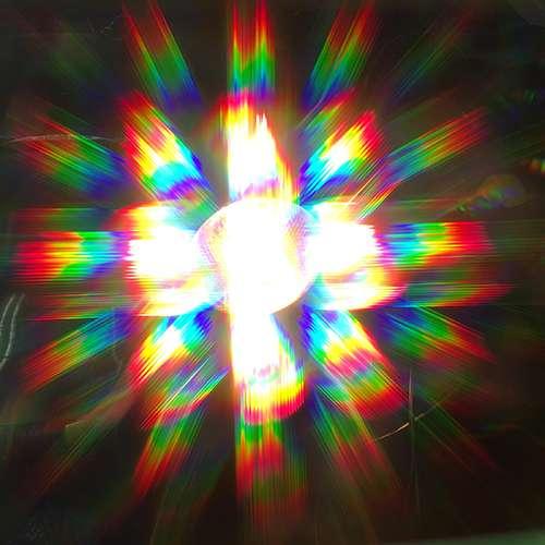 Rainbows of light!