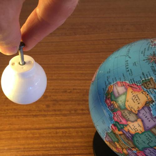 Earth and Moon model