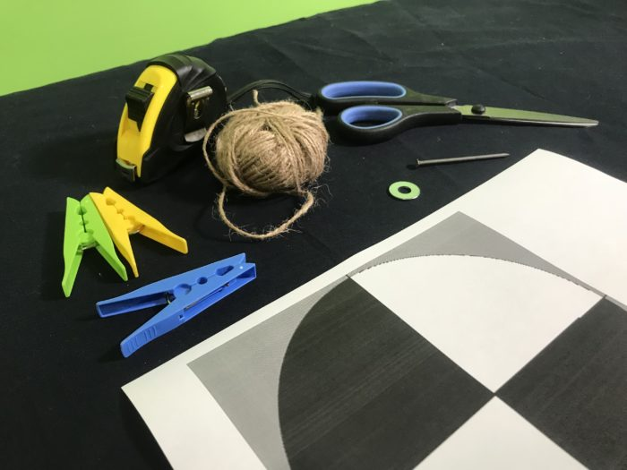 Make a Secchi disc - materials needed