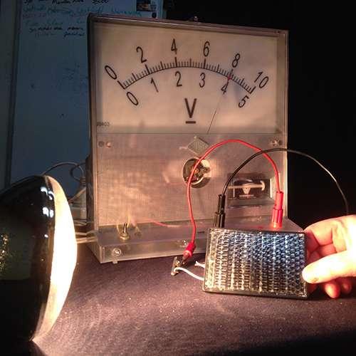 Solar panel electricity generation measurement