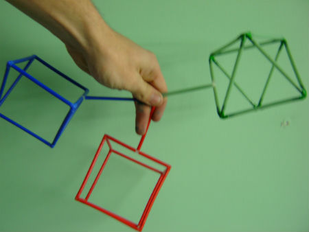Different frames for making different shaped bubbles