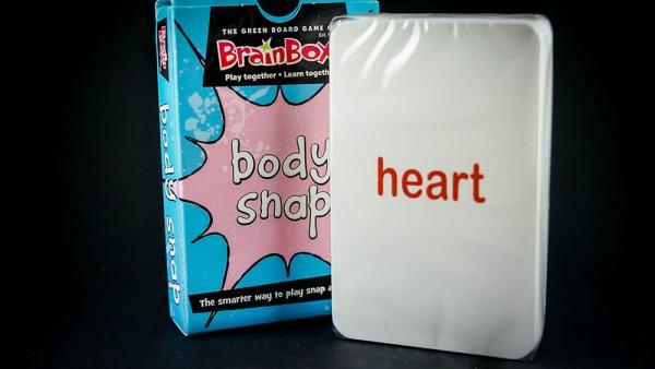 Human Body Snap Cards