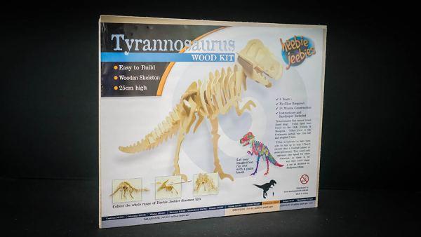 T-Rex Woodcraft Skeleton Construction Kit