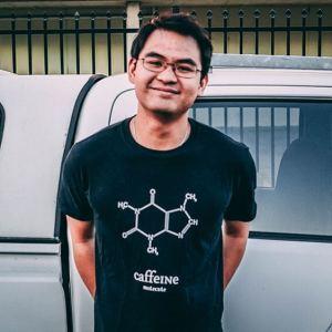Caffeine Shirt (M)