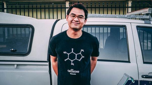 Caffeine Shirt (L)