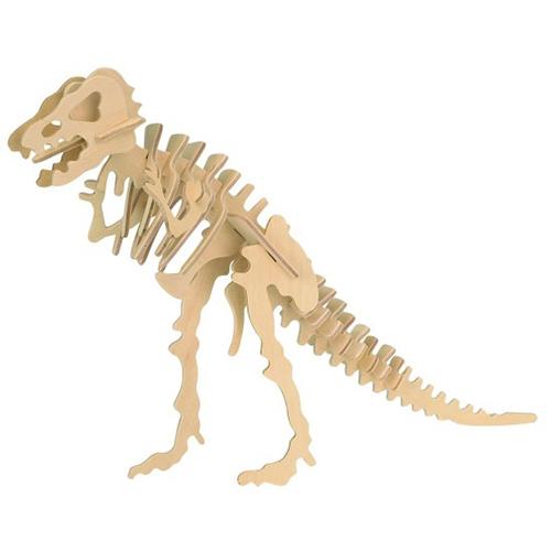 t rex wooden puzzle