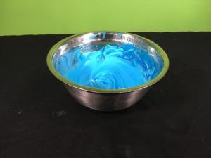 Sudsy Slime Science Experiment - final result