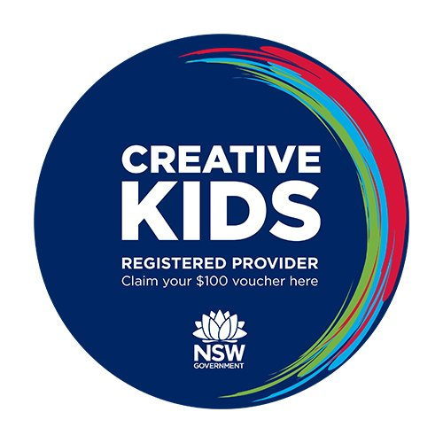 Creative Kids registered provider badge