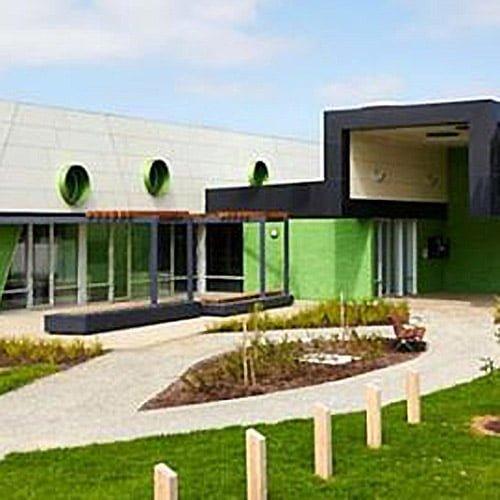 Keon Park Childrens Hub front view