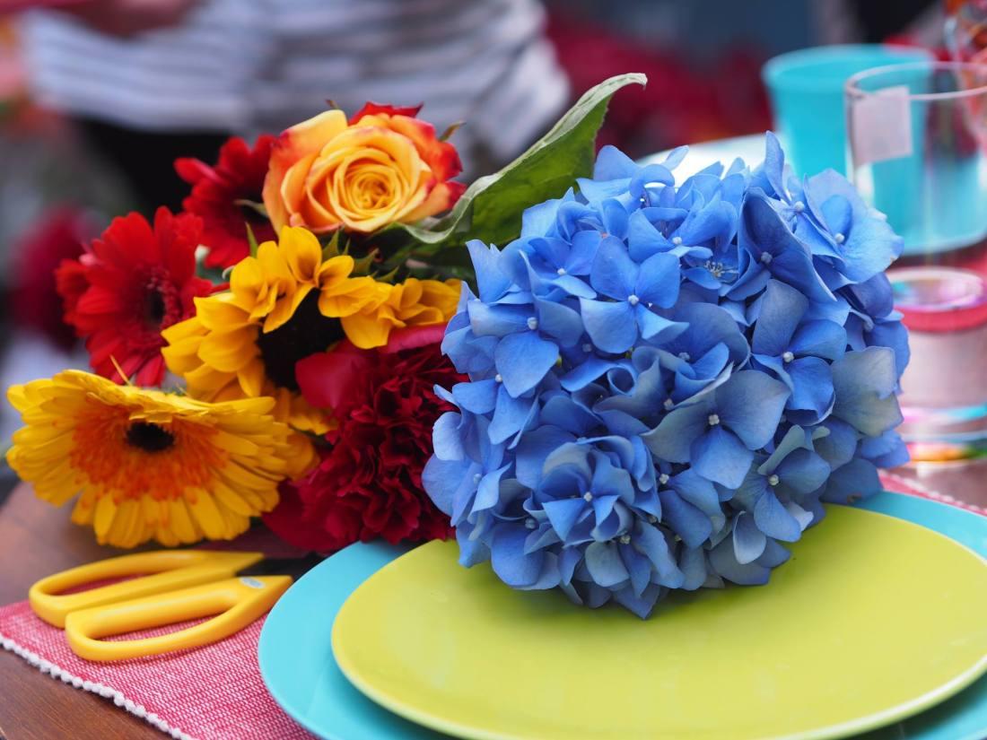#BeautifulBloom Flower Arranging Workshop with Marks & Spencers