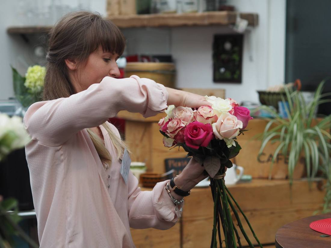 #BeautifulBloom Flower Arranging Workshop with Marks & Spencers