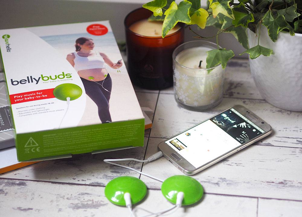 Bellybuds Review - The sound system for the womb!