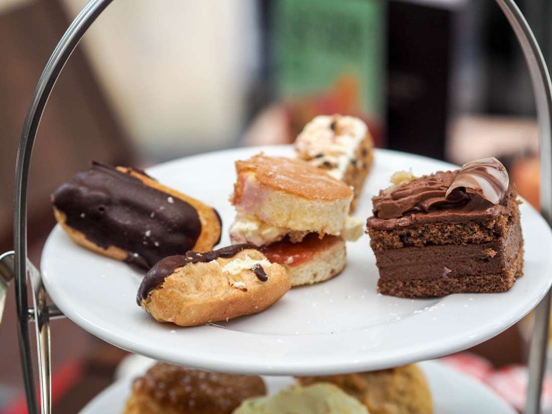 Review: Afternoon Tea at Patisserie Valerie Brighton