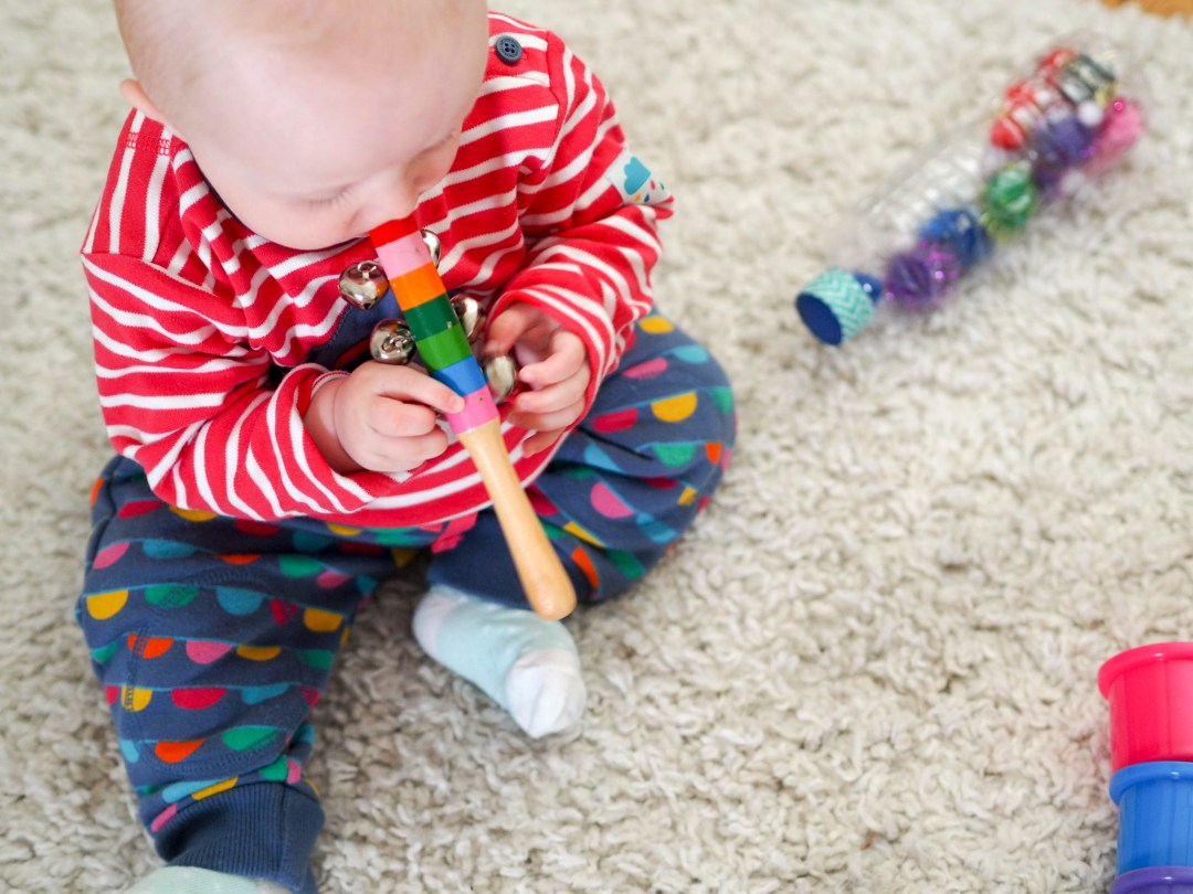 Baby Sensory ideas you can do at home