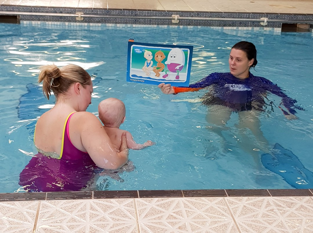Water babies brighton - baby swimming lessons