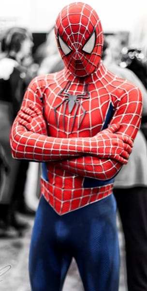 Spiderman Cospaly
