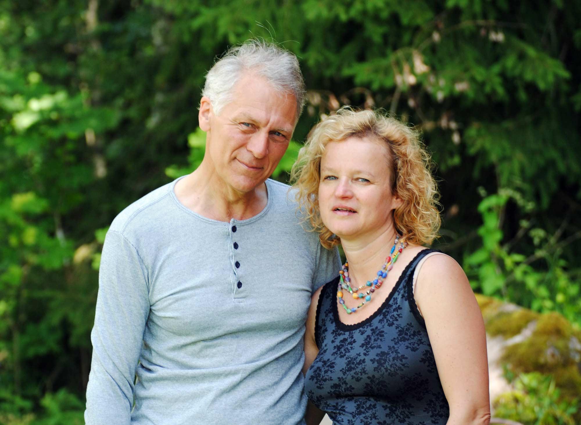 Sunnansjö farm Ann-Helen & Gunnar
