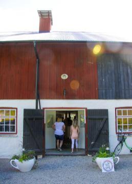 Salnecke castle cafe emtré