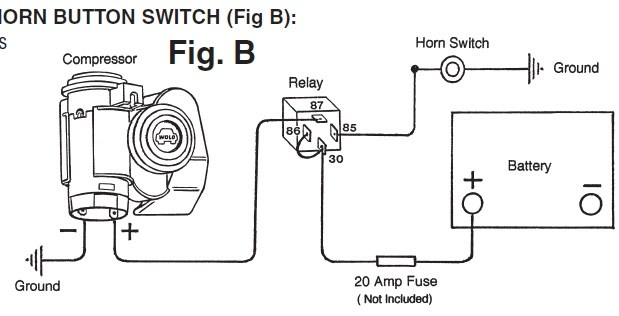 Wiring Diagram Train Horn
