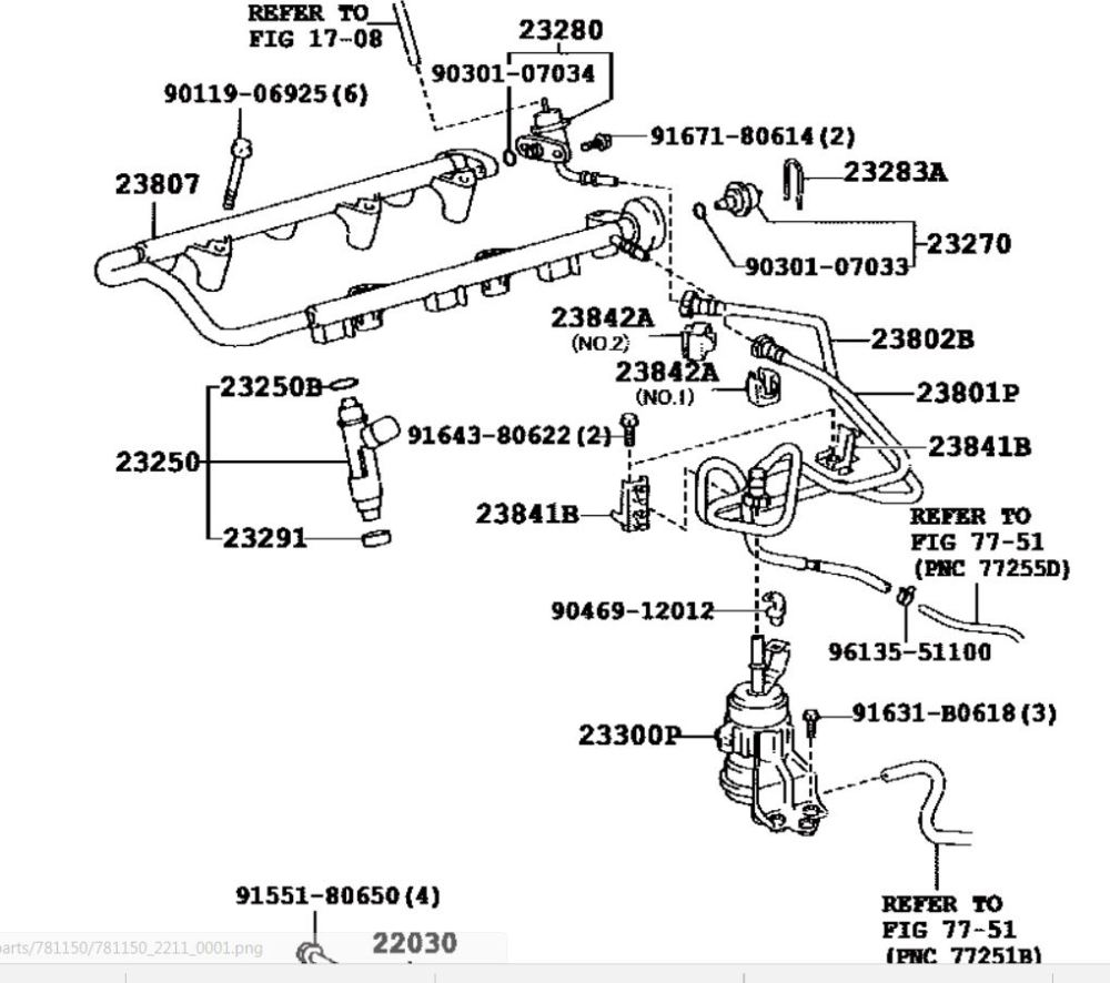 medium resolution of click image for larger version name fj cruiser fuel filter plumbing and misc parts