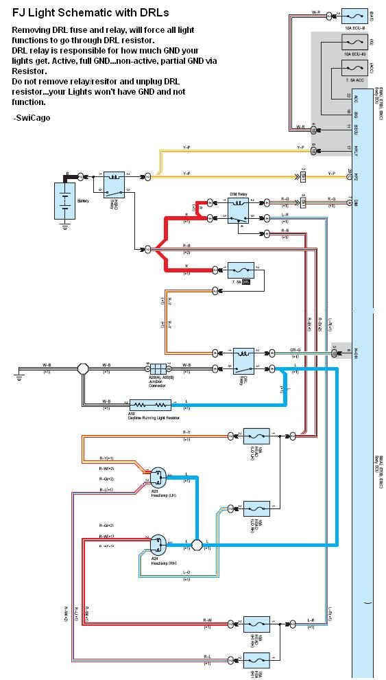 wiring diagram light pro audio diagrams daytime running lights drl disconnect toyota fj cruiser forum click image for larger version name drlschematic jpg views 10563 size 75 1