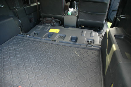Full Rear Seat Removal Pics and Divider  Toyota FJ