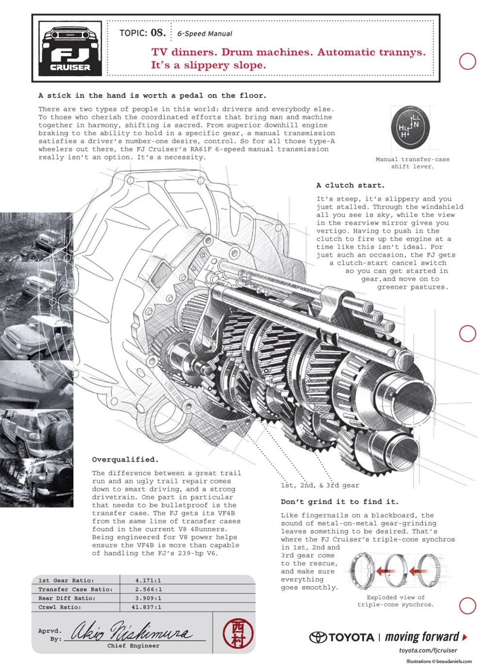 medium resolution of click image for larger version name cutaway style technical illustration of a toyota fj cruiser