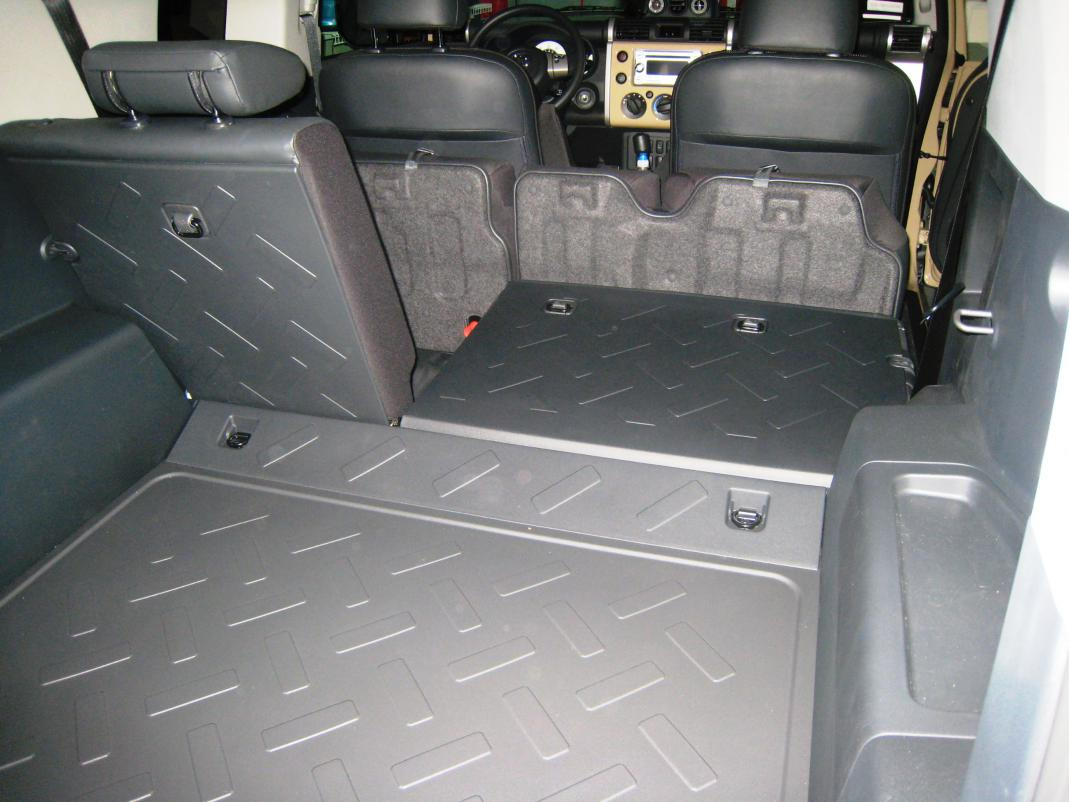 Rear Seats In 2011 FJ Cargo Space Toyota FJ Cruiser Forum
