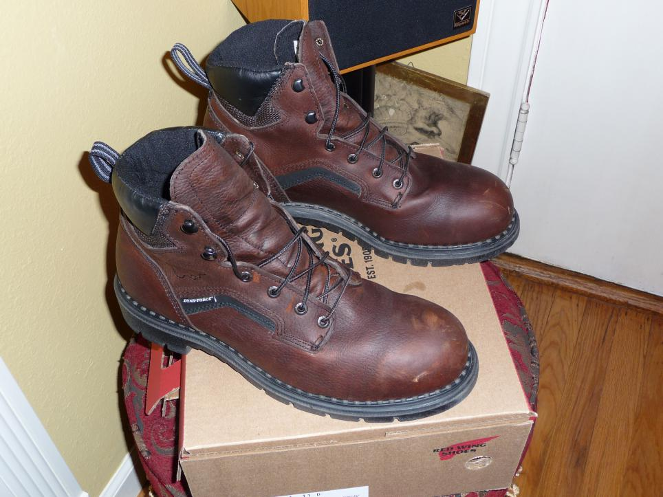 302c00a7442 Red Wing Steel Toed Boots - Yamsixteen
