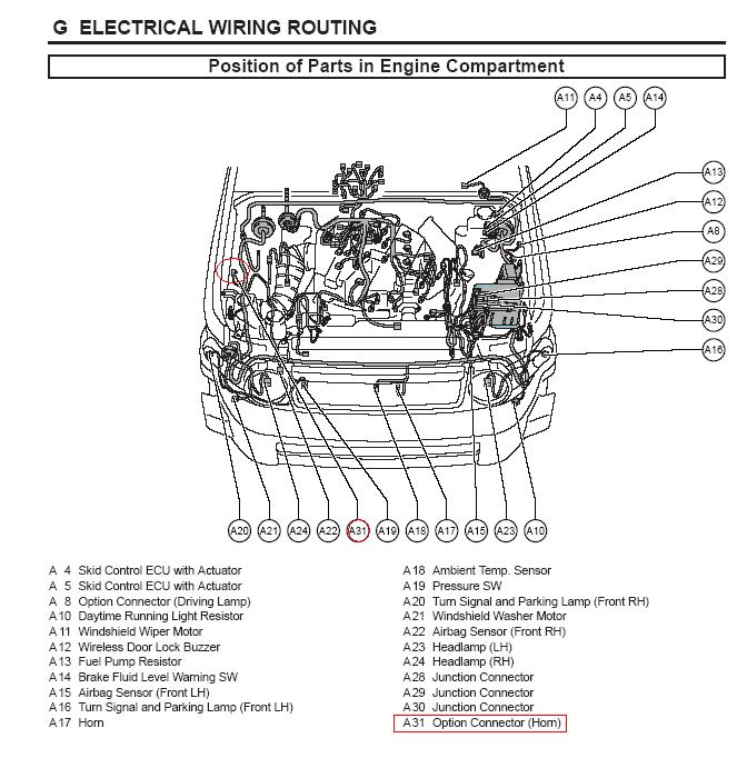 Electrical Wiring Diagram For 2004 Toyota Sienna Signal