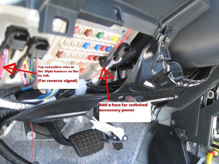 2014 Tundra Head Unit Wiring Diagram Back Up Light Relay Location Toyota Fj Cruiser Forum