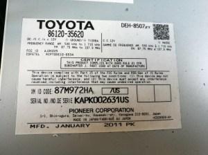 Wiring Diagram Toyota 86120  Somurich