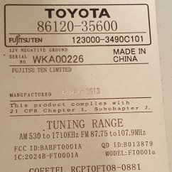 Toyota Fujitsu Ten 86140 Wiring Diagram Mini Split 86120 39