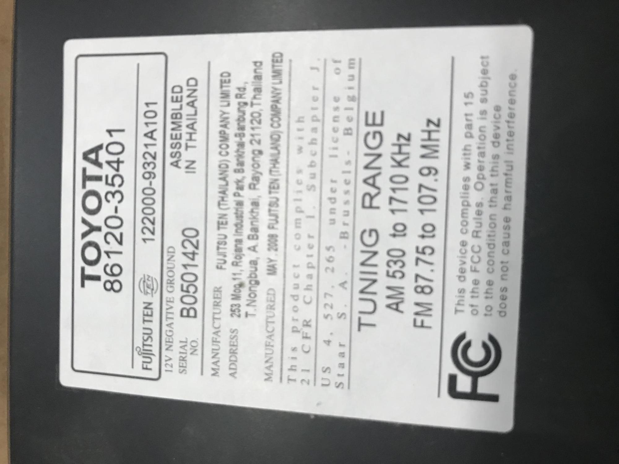 hight resolution of toyota 86120 0c030 wiring diagram