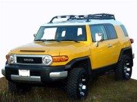 FJ Cruiser Parts Accessories: FJ Cruiser Low Profile Front ...