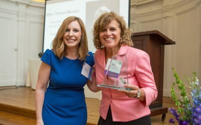 WBASNY President's Award Presented to Mary Travers Murphy