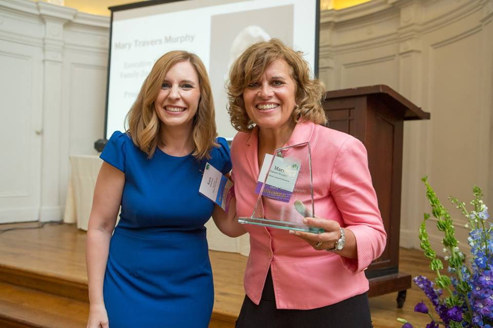 WBASNY President's Award Presented to Mary Travers Murphy