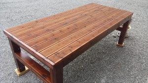 Skogkløver bord