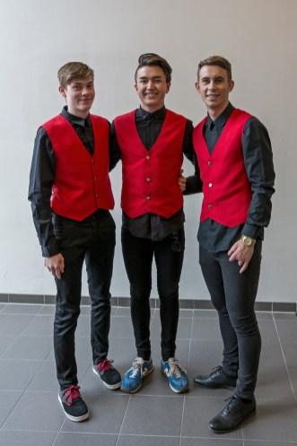 Henrik, Ole Morten & Simon