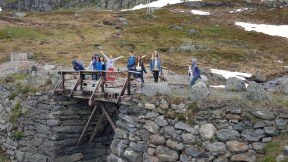 Pause over fjellet
