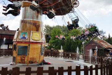 Wild West karusellen