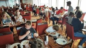 Frokost på vei til Bergen