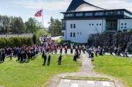 Oppstilling ved Foldnes kirke